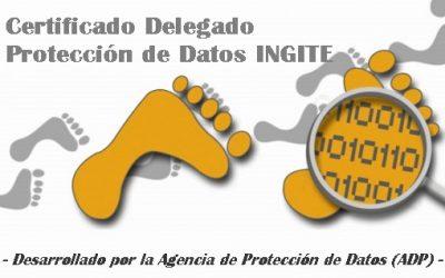 ¡Consigue tu Certificado de Delegado de Protección de Datos!