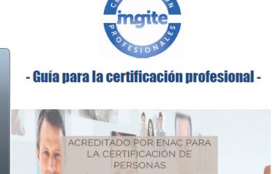 Guía informativa sobre certificación profesional